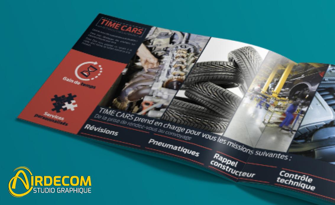Création de magazines, affiches et flyers